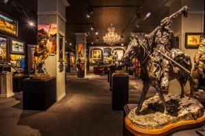 Painters Chair Art Gallery