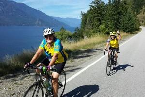 Selkirk Loop bicycle touring