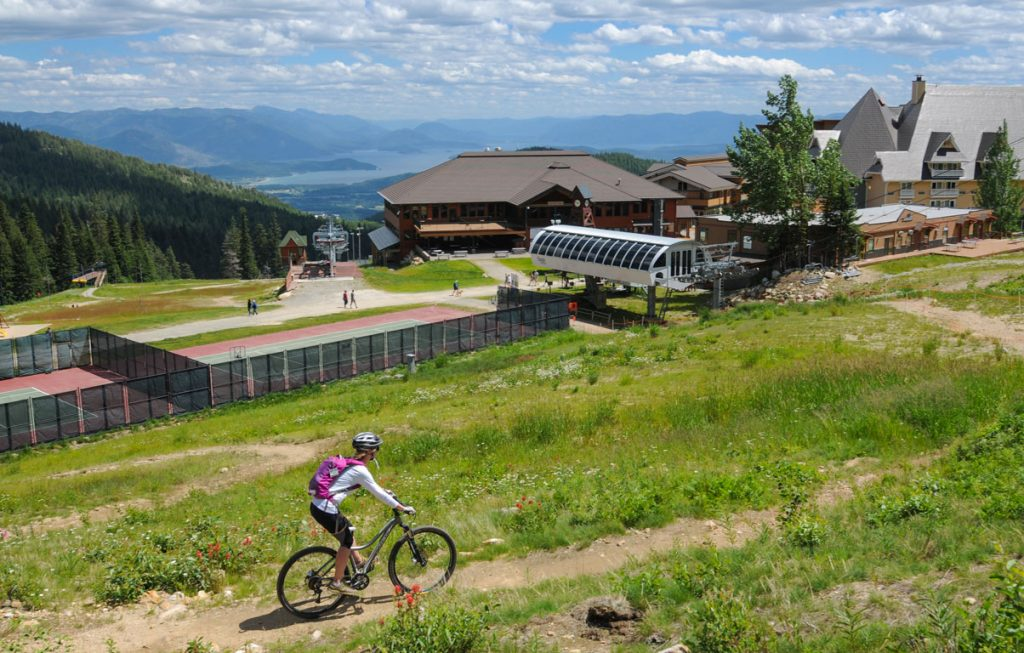 Bike at Schweitzer